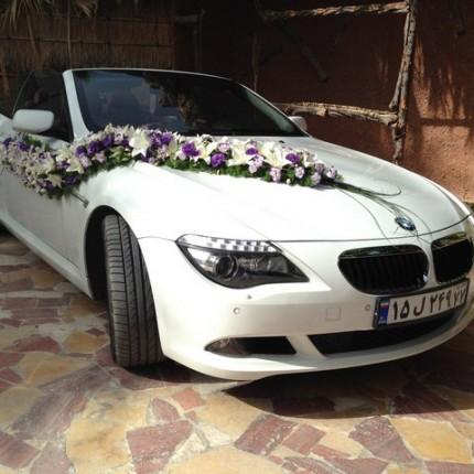 اجاره ماشین بی ام و گل خطی
