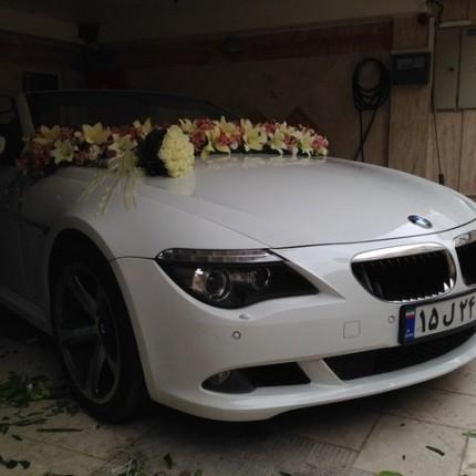 قیمت اجاره ماشین عروس بی ام و جدید