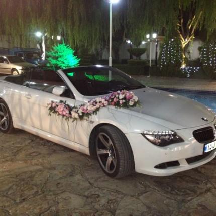 ماشین عروس خارجی بی ام و