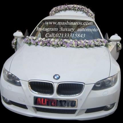 کرایه ماشین عروس در تهران با گل