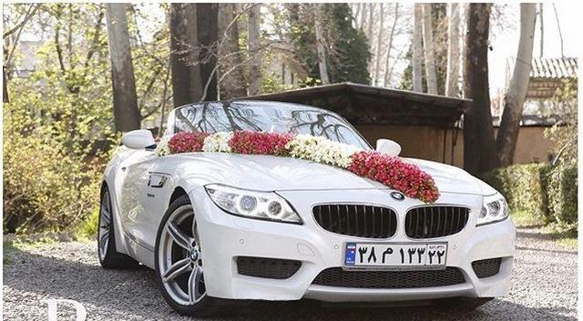 قشنگترین و شیک ترین ماشین عروس 2018