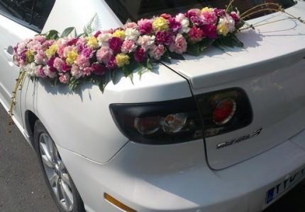 جدیدترین تزیین ماشین عروس
