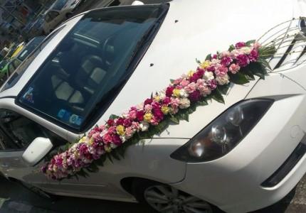 عکس ماشین عروس مزدا 3