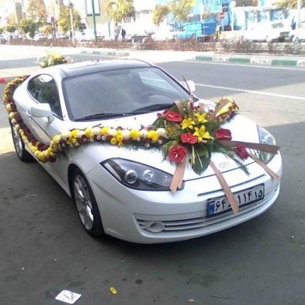 ماشین عروس ساده