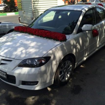 ماشین عروس مزدا 3