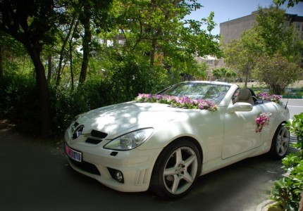 مدل ماشین عروس شیک بنز